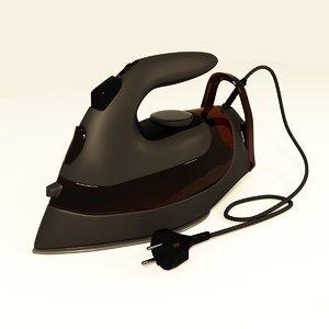 3D clothes iron