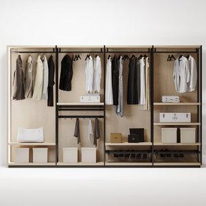 wardrobe6 box 3D model
