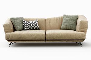 3D lennox sofa