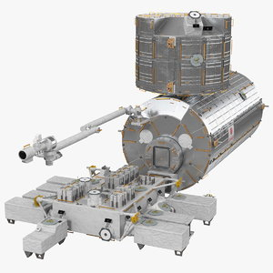 iss japanese experiment module model