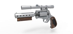 tobias beckett blaster 3D model