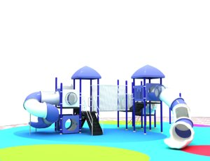 3D playground ground