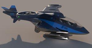 3D concept copter