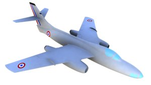 so-4050 vautour iib bomber 3D model