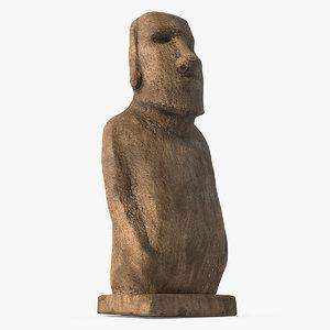 moai hoa hakananai 3D model