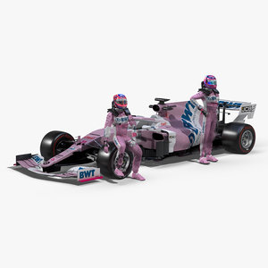 3D model 2020 point racing
