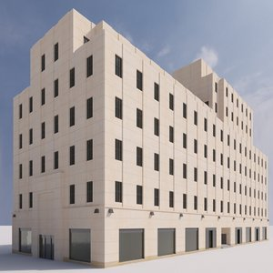 british empire building 3D model