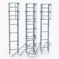 Modular Industrial Ladder