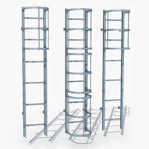 modular ladder 3D model