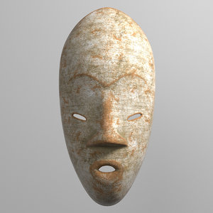 3D mask african