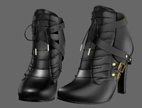 Y190 high-heeled shoes