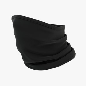 3D bandana face cover