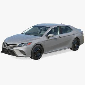 3D business sedan model