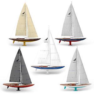 3D leonardo yacht model