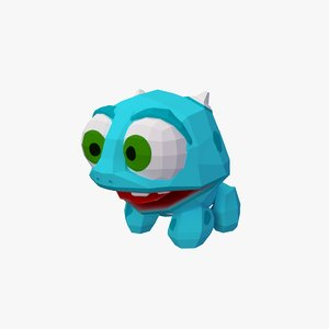 dinosaur animal toy 3D model