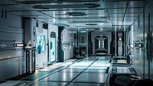 pack 26 sci-fi interior 3D