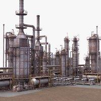 Oil Refinery 02