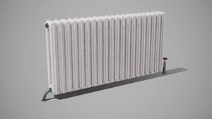 3D wall radiator