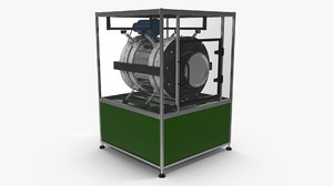 3D separation equipment model