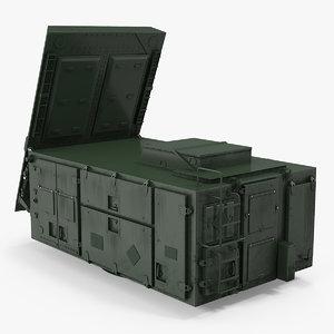 3D patriot radar green