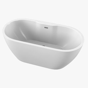 3D reed otterton bathtub model
