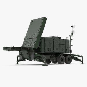 3D patriot radar mpq53 green