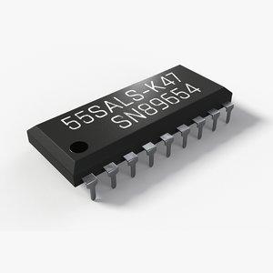 chip 2k pbr 3D model