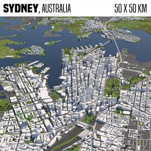 buildings houses maps 3D model