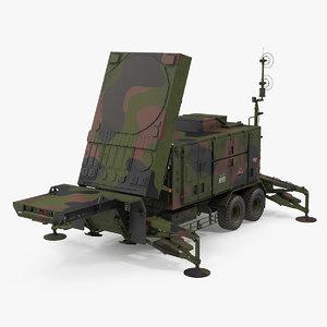 patriot mpq53 radar set 3D model
