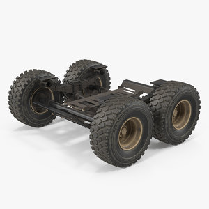 heavy duty chassis 3D model