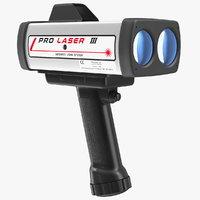 Kustom ProLaser III LIDAR Speed Gun