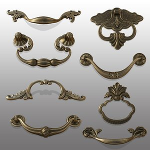 handle furniture hardware 3D model