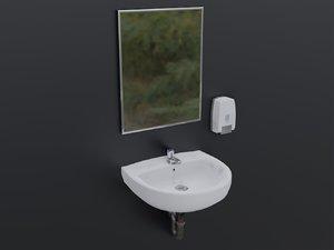sink mirror 3D
