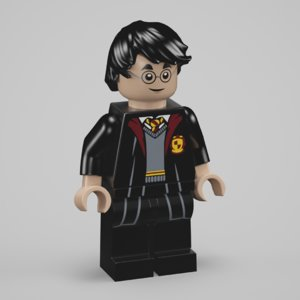 3D harry potter lego