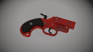 flare gun 3D