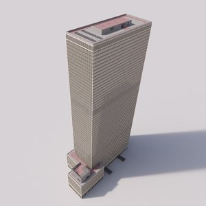 3D 1251 exxon building