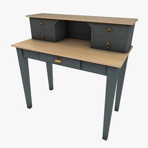 3D model desk furniture