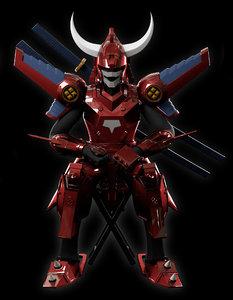 3D japanese god