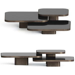3D bow coffee tables model
