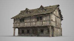 old building storey 3D