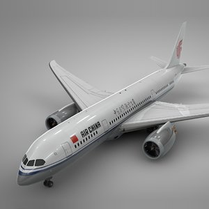 boeing 787 dreamliner air 3D model