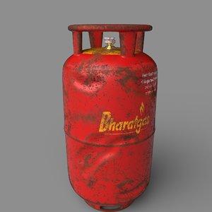 3D bharat gas cylinder