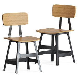 yardbird chair 3D model