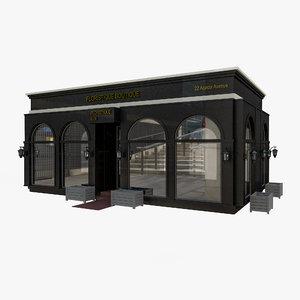 city pavillion 3D model