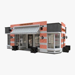 trade pavillion store 3D model