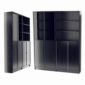 ikea bookcase 3D
