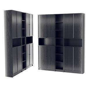 3D ikea bookcase