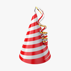 hat party 3D model