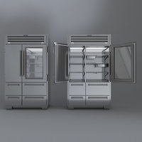 SUBZERO PRO4850 Refrigerator Freezer With Interior