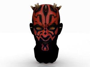 boba head 3D model
